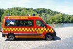 Mannschaftstransportwagen Löschzug 1 Feuerwehr Würzburg